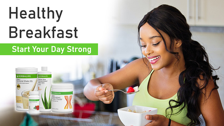 ACTIVE LIFESTYLER herbalife-healthy-breakfast-singapore Wake Up To A Healthy Breakfast
