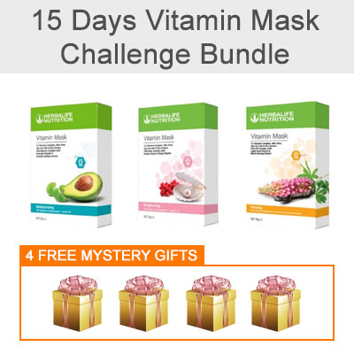Vitamin Mask Challenge Bundle