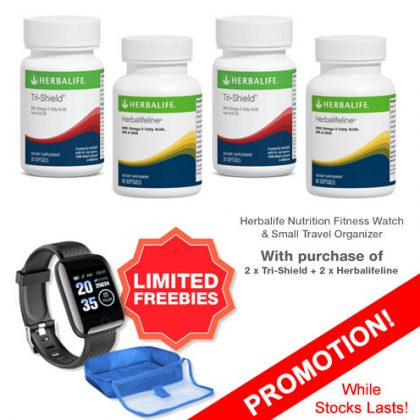 Herbalifeline & Tri-Shield Bundle